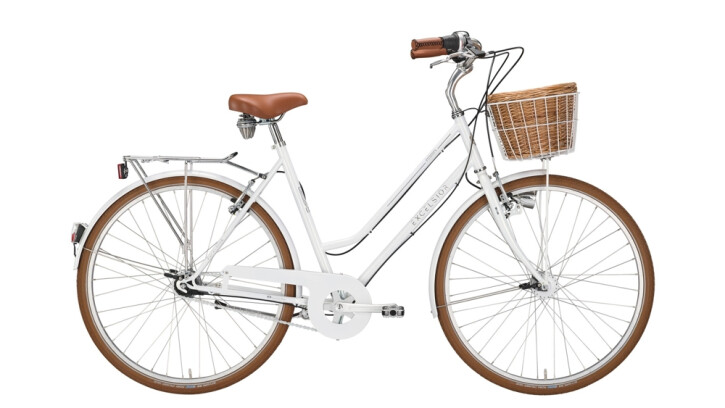 Citybike Excelsior Glorious weiß 2020