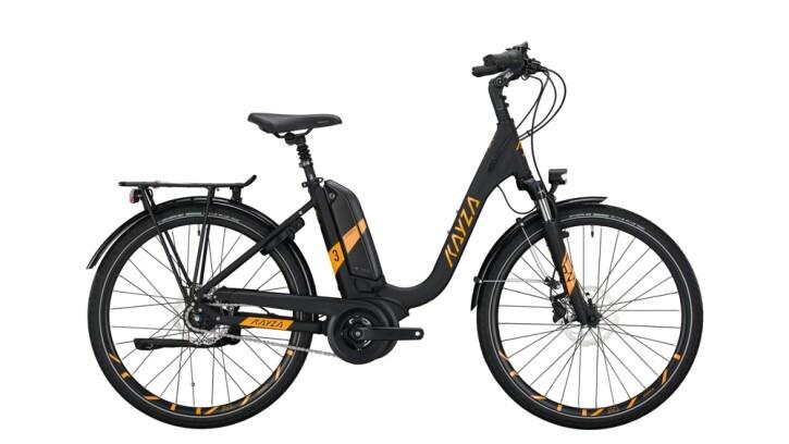E-Bike KAYZA TANANA DRY 3 schwarz,gelb 2020