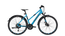 Trekkingbike KAYZA NITI  DRY 4 schwarz,blau