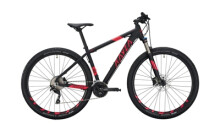 Mountainbike KAYZA GARUA 8 schwarz,rot