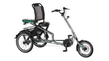 E-Bike Pfau-Tec ELO-Scooter Trike grau