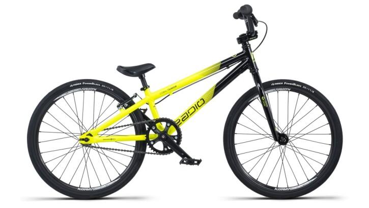 BMX Radio Cobalt Junior schwarz,gelb 2020