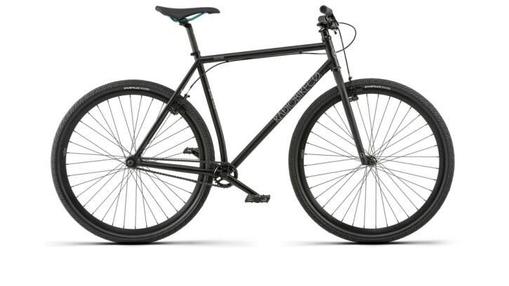 Mountainbike Radio Divide schwarz 2020