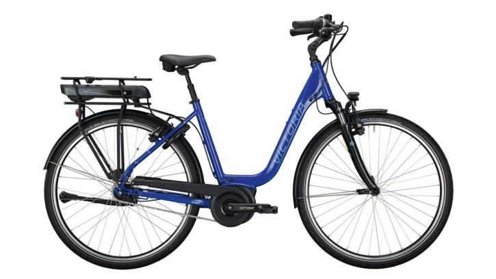 E-Bike Victoria eTrekking 5.10 silber,blau 2020