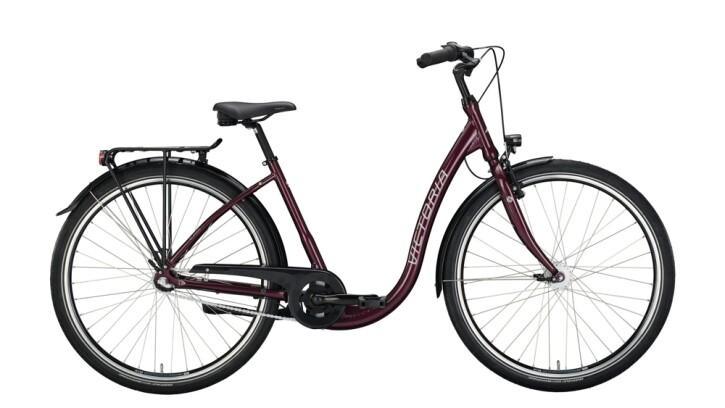 Citybike Victoria Classic 3.7 schwarz,rot 2020