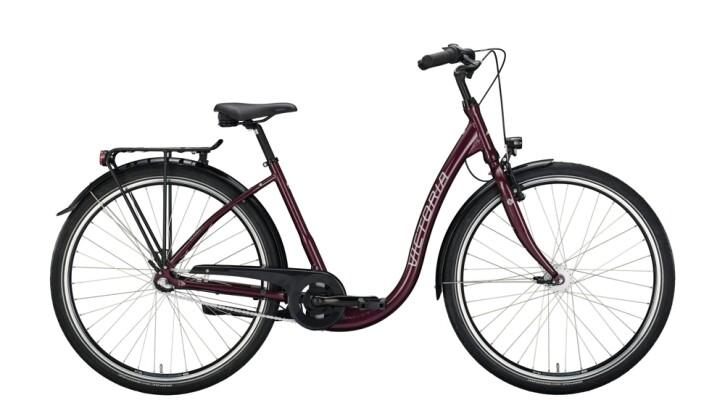 Citybike Victoria Classic 3.3 schwarz,rot 2020