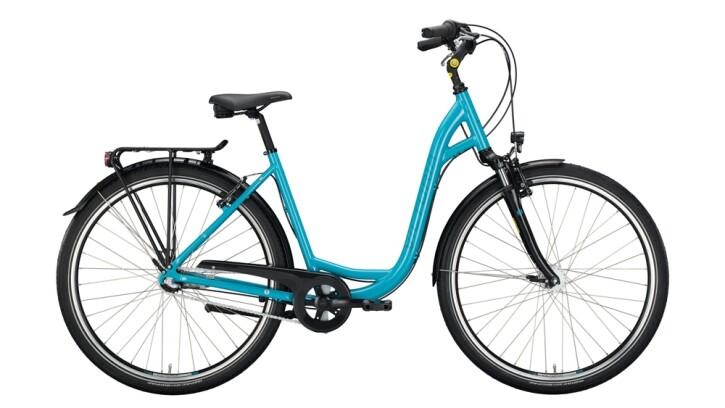 Citybike Victoria Classic 1.4 silber,blau 2020