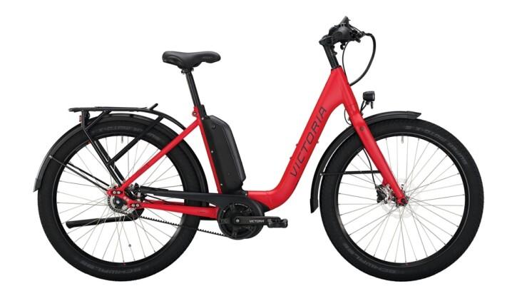 E-Bike Victoria eUrban 11.8 schwarz,rot 2020