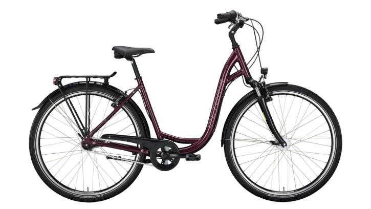 Citybike Victoria Classic 1.7 silber,rot 2020