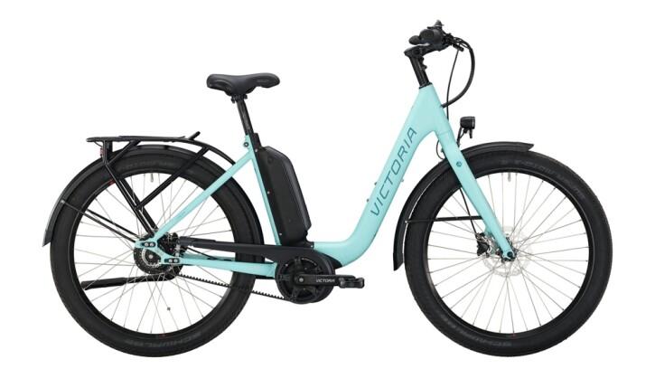 E-Bike Victoria eUrban 11.9 silber,blau 2020