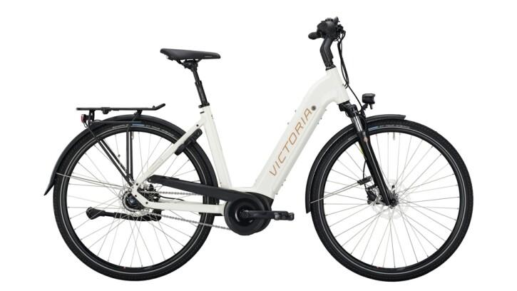 E-Bike Victoria eTrekking 11.6 silber,weiß 2020