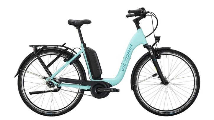 E-Bike Victoria eManufaktur 9.5 silber,blau 2020