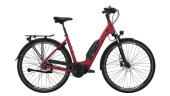 E-Bike Victoria eTouring 7.4 silber,rot