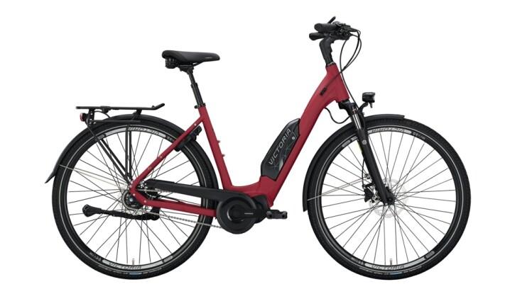 E-Bike Victoria eTouring 7.4 silber,rot 2020