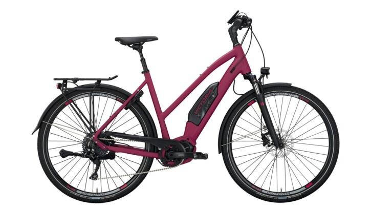 E-Bike Victoria eTouring 8.8 schwarz,violett 2020