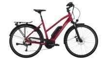 E-Bike Victoria eTrekking 6.3 silber,rot