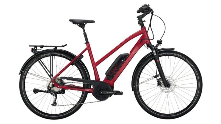 E-Bike Victoria eTrekking 6.3 silber,rot 2020