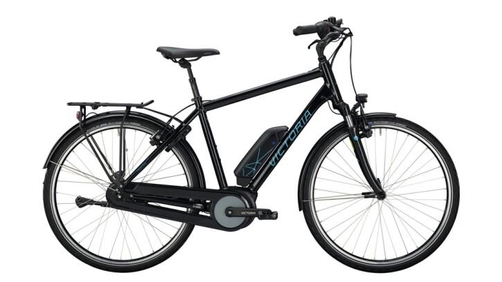 E-Bike Victoria eTrekking 5.7 H schwarz,blau 2020