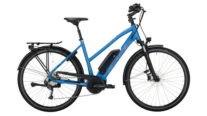 E-Bike Victoria eTrekking 6.4 weiß,blau 2020
