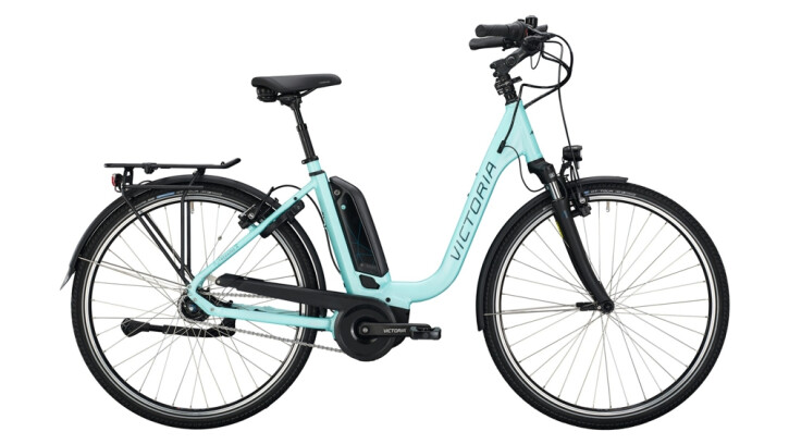 E-Bike Victoria eTrekking 7.4 blau,grün 2020
