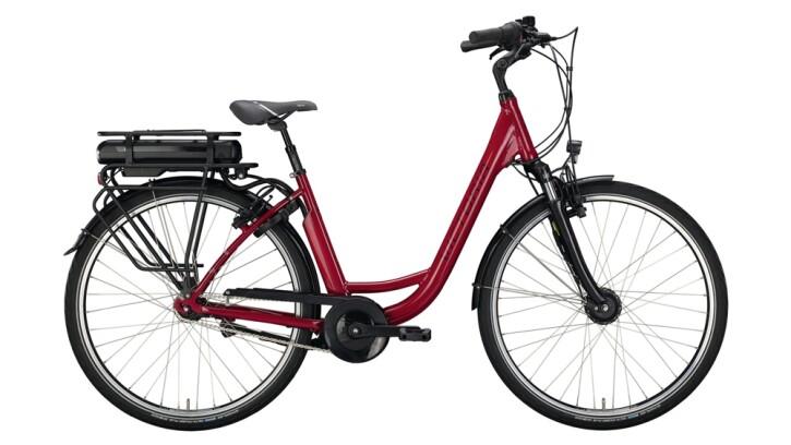E-Bike Victoria eClassic 3.1 silber,rot 2020