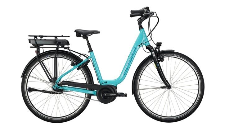 E-Bike Victoria eTrekking 5.5 grün,grau 2020
