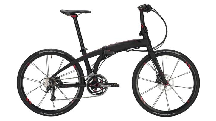 Faltrad Tern Eclipse X22 schwarz,rot 2020