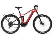 E-Bike FLYER Goroc3 6.50 HS  Classic Red / Black Gloss