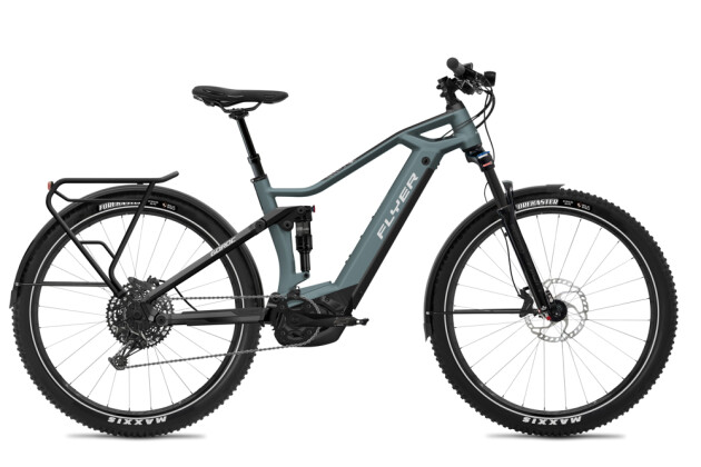 E-Bike FLYER Goroc3 6.50 HS Pigeon Blue / Black Matt 2020