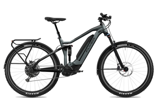 E-Bike FLYER Goroc4 6.50 HS Black Shading / Black Gloss 2020