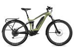 E-Bike FLYER Goroc4 6.50 HS Olive Metallic / Black Matt