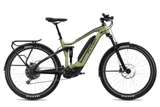 E-Bike FLYER Goroc4 6.50 HS Olive Metallic / Black Matt 2020