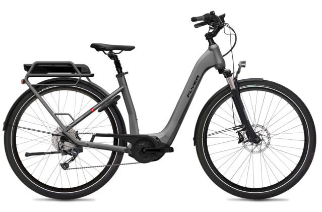 E-Bike FLYER Gotour2 5.01R Silver Dark Cool Gloss 2020