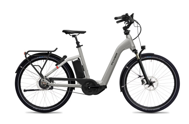 E-Bike FLYER Gotour4 5.01R Cast Silver Gloss 2020