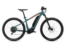 E-Bike FLYER Uproc2 4.50 Teal Blue / Magma Red Matt