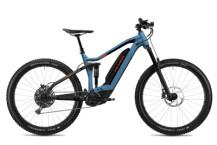 E-Bike FLYER Uproc4 6.50 Jeans Blue / Magma Red Matt
