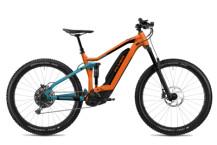 E-Bike FLYER Uproc4 6.50 Tangerine Orange/Teal Blue Mat
