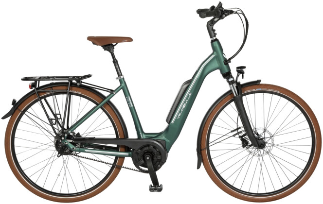 "E-Bike Velo de Ville AEB800 26"" 9 Gang Shimano Deore Mix 2020"