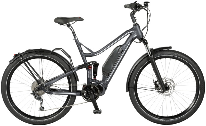 E-Bike Velo de Ville AES 800 FS 9 Gang Shimano Deore 2020