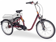 E-Bike Draisin SENORA mit Motor rot