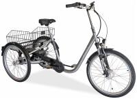 E-Bike Draisin SENORA mit Motor silber