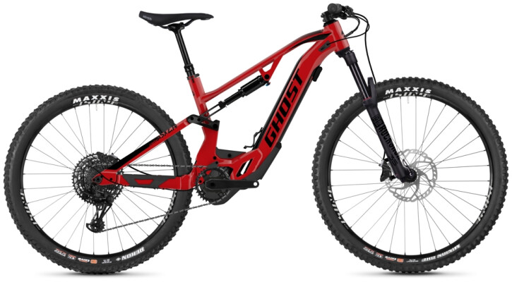 E-Bike Ghost Hybride ASX 2.7+ AL U rot 2020