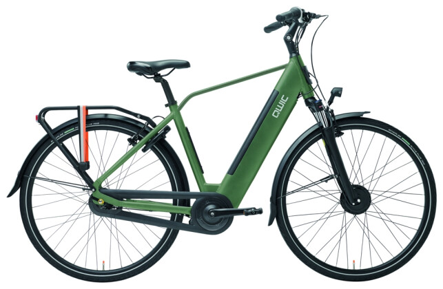 E-Bike QWIC FN7 Lite Army Green Diamond 2020