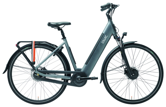E-Bike QWIC FN7 Stone Grey Low step 2020