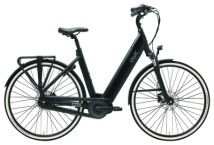 E-Bike QWIC i-MN8C+ Charcoal Black Low step