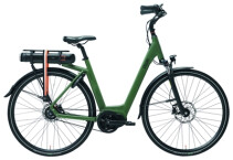 E-Bike QWIC MN8 Belt Army Green Low step
