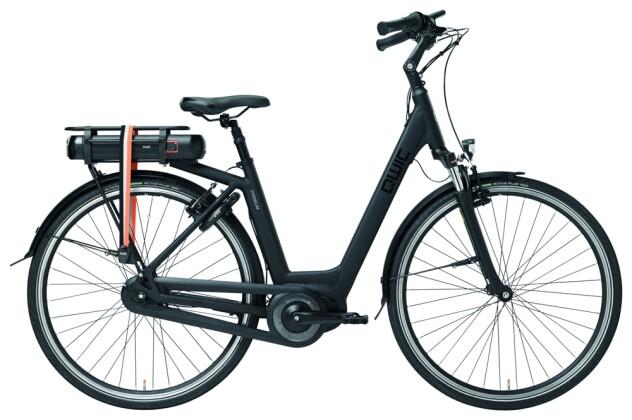 E-Bike QWIC MN7VV Matte Black Low step 2020