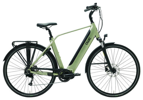 E-Bike QWIC i-MD9 Timber green Diamond 2020
