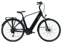 E-Bike QWIC i-MD9 Charcoal Black Diamond