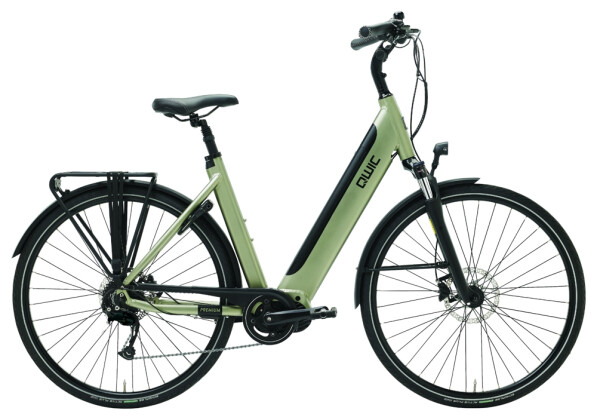 E-Bike QWIC i-MD9 Timber green Low step 2020